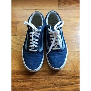 Vans X Madewell denim low-top sneakers